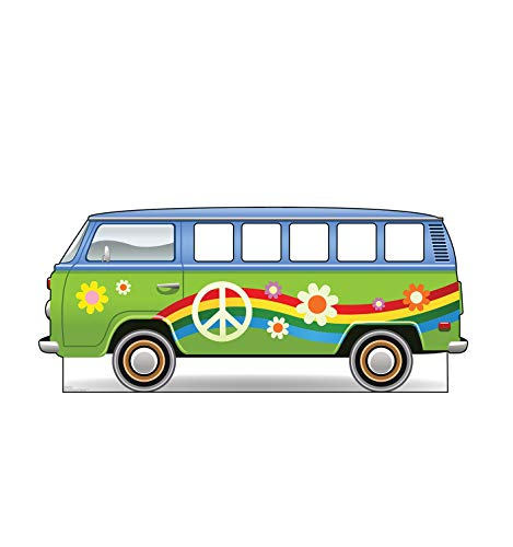 Advanced Graphics Hippie Bus Stand-in Life Size Cardboard Cutout Standup]()