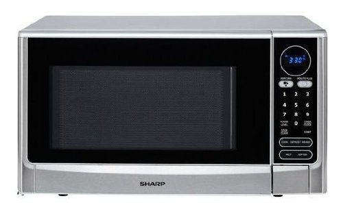 Cheap 1.4 Cu. Ft. 1100 Watt Countertop Microwave-stainless