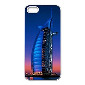 Cool Painting Building Original New Print DIY Phone Case for Iphone 5,5S,personalized case cover case-348991