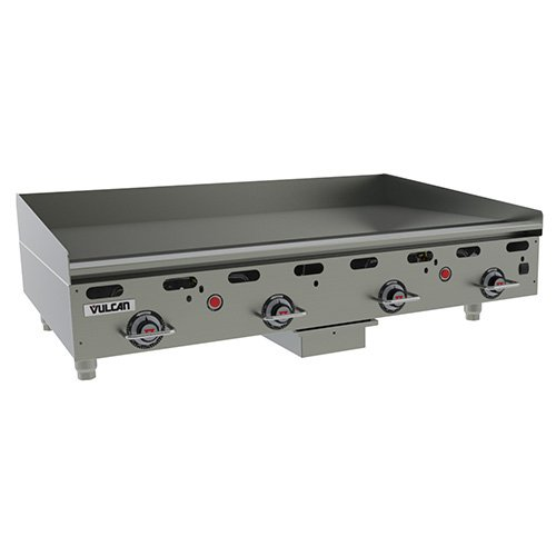 Gas Vulcan Griddle (Vulcan MSA48 Vulcan Commercial Griddle - Gas Heavy Duty Griddle - 48