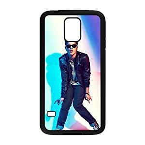 C-EUR Customized Print Bruno Mars Hard Skin Case Compatible For Samsung Galaxy S5 I9600