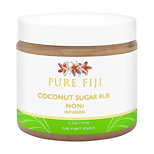 Pure Fiji Coconut Sugar Rub NONI Infusion, 16 oz.