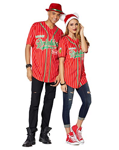 (Spencer Gifts Holiday Drinking Team Jersey - L)