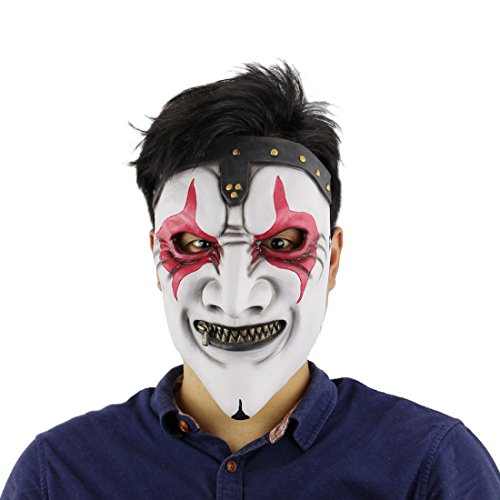 Halloween Horror Costume party Props Slipknot Band Joey Masks(Zipper Mouth) ()