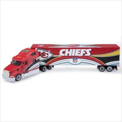 (2008 NFL Peterbilt Tractor-Trailer Kansas City Chiefs)