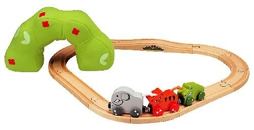 Baby's First Jungle Train Set