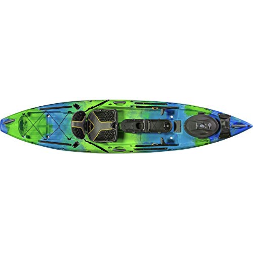 Ocean Kayak Trident 11 Angler Kayak (Ahi, 11 Feet 6 Inches)