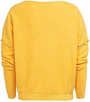 Femme Hiver Pull Baggy Couleur Unie Manche Chauve-Souris Tricot/és Pullover Les Loisirs /À Capuche La Mode Chaud Pullover