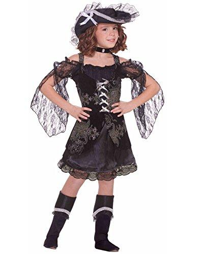 Forum Novelties Little Designer Collection Swashbuckler Sweetie Pirate Child Costume, Large -