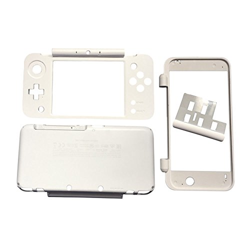 (Meijunter Replacement Housing Shell Protective Case Cage Cover Chassic Accessories Anti-scratch Sets for New Nintendo 2DS LL/XL)