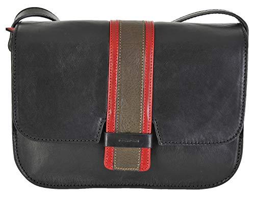Black Patta Conti Italiana Pelle Borsa Gianni Multi 973875 In SwRf4qAx0