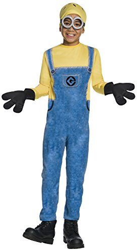 Children's Minion Halloween Costume (Rubie's Costume Despicable Me 3 Child's Jerry Minion Costume, Multicolor,)