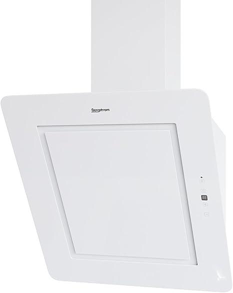 Bergstroem Ivar Campana extractora Cristal LED Campana de pared (kopffrei mando a distancia 60 cm Weiss: Amazon.es: Grandes electrodomésticos
