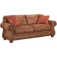 Broyhill Laramie Sofa, Chocolate