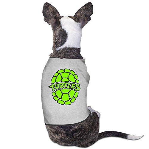 Dog Shredder Costume (P-Jack Dog Pets Costumes Amazing 4 Turtle Gray Size L)