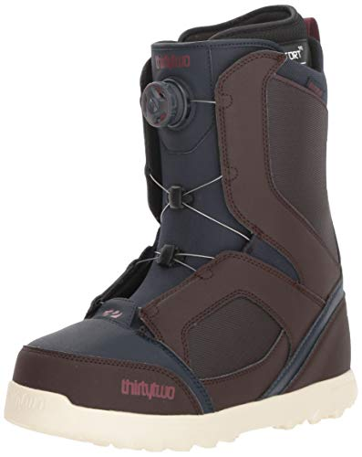 (thirtytwo STW Boa '18 Snowboard Boots, Size 12, Brown/Navy)