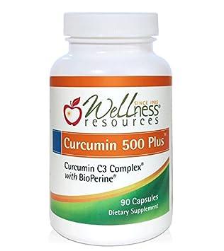 Curcumin 500 Plus – Highest Potency 95 Curcuminoids, Curcumin C3 Complex with BioPerine for Max Absorption 500mg, 90 Capsules