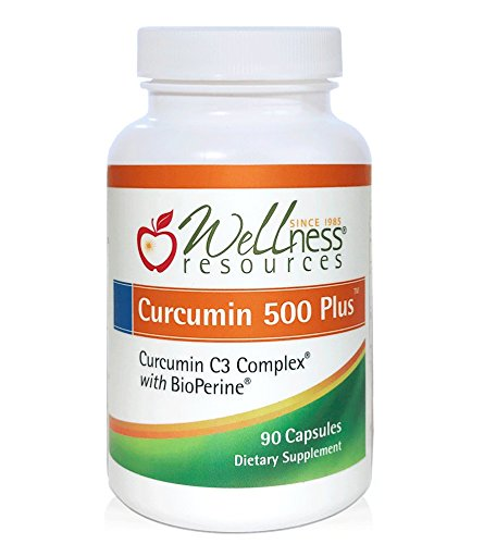 Curcumin 500 Plus – Highest Potency 95% Curcuminoids Curcumin C3 Complex with BioPerine for Optimized Absorption (500mg, 90 Capsules) Review