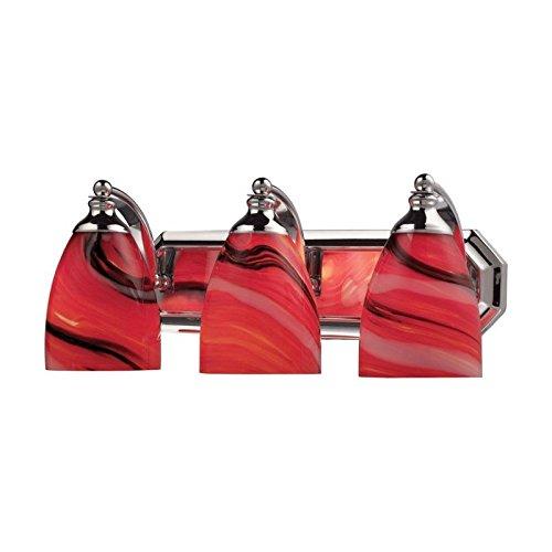 Elk Lighting Bath and Spa 3 Light Vanity Light in Polished Chrome