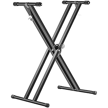 Amazon.com: Neewer Black Folding Solid Iron Double-Braced ...