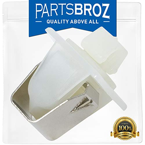 279570 Dryer Door Latch Strike Kit for Kenmore & Whirlpool Dryers by PartsBroz - Replaces AP3094183, 14205029, 236877, 241282, 279280, 279570VP, 690081, 696144, PS334230 Dryer Door Latch Kit