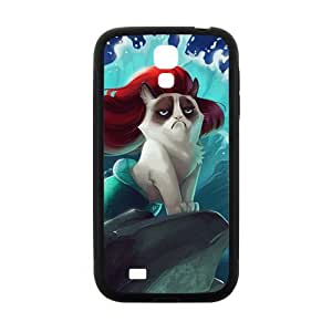 Red hair cat mermaid Cell Phone Case for Samsung Galaxy S4