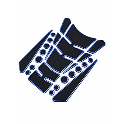 Niree Motorcycle Tank Gas Protector Pad Sticker Decal for Yamaha YZF R6 1999-2004 YZF R1 2002-2003 FZ1 FAZER 2001-2005 R6S USA VERSION 2006-2009 R6S CANADA VERSION 2007-2009 (A08#)