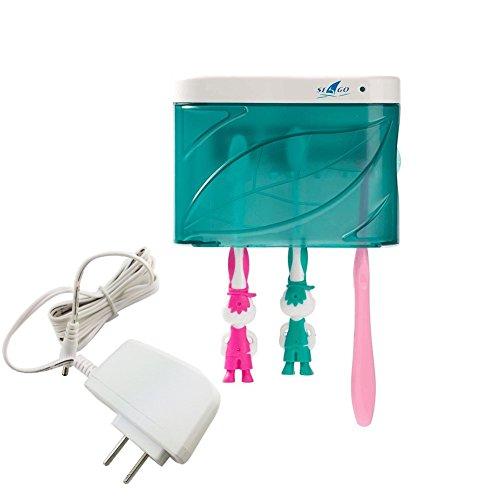 Easyinsmile Family Size Zero Germ UV Light 3-5 Minute Toothbrush Holders Sanitizing timer Sanitizer Sterilizer