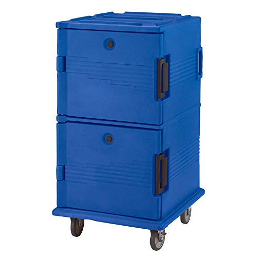 Ultra Camcarts Cambro Navy Blue Holds 16 Full Size H Food - Blue Camcart