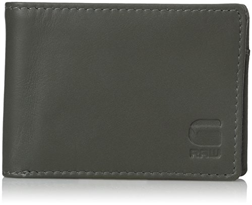 G-star Raw Accessories (G-Star Raw Men's Barran Wallet, Gs Grey, One Size)