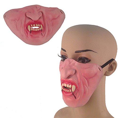 Sweenaly Halffacemask Latex mask Perfect Masquerade Party Halloween (Vampire) -