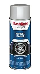PlastiKote 621 Silver Argent Wheel Paint - 12 Oz.