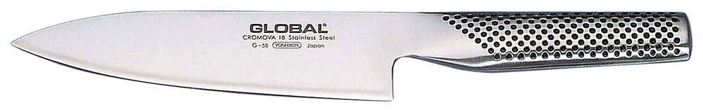 Global G-58 6'' Chefs-Knives, Silver