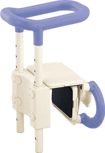 アロン化成 安寿 高さ調節付浴槽手すりUST-130 ブルー B003ED1S38 ブルー ブルー