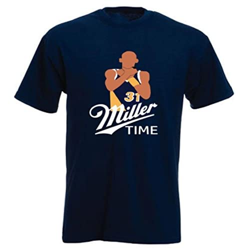 "The Silo NAVY Indiana Miller ""Choking"" T-Shirt for cheap"