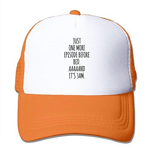 XiaoHans Men Binge Watching Addict Classic Golf Orange Mesh Hat Adjustable - Christian Dior Chicago