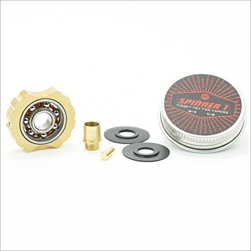 Coil Master Spinner 1 Mini Fidget Finger Spinner (Gold)