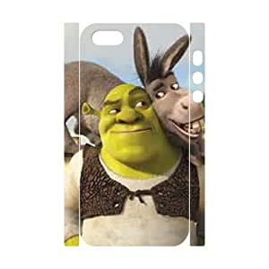 E-Shop Cell phone Protection Cover 3D Case Shrek Donkey For Iphone 5,5S