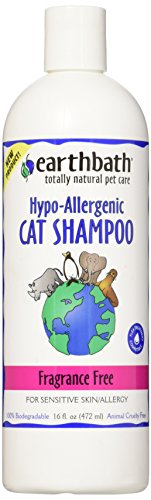 Earthbath Hypo-Allergenic Cat Shampoo, 16 oz