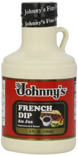 Johnny's French Dip Concentrated Au Jus Sauce, 8 oz (French Roll)