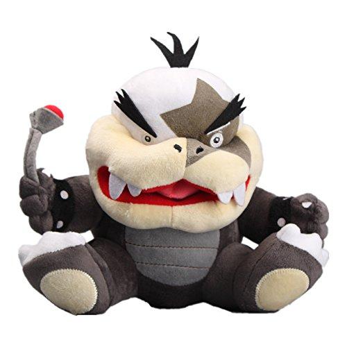 UiUoU Morton Koopa Jr. Plush 8'' Super Mario Bros. Doll Toy (Doll 8' Anime Plush)