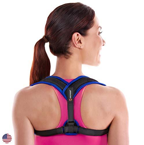 Posture Corrector for Women & Men. Adjustable Posture Brace for Slouching & Hunching