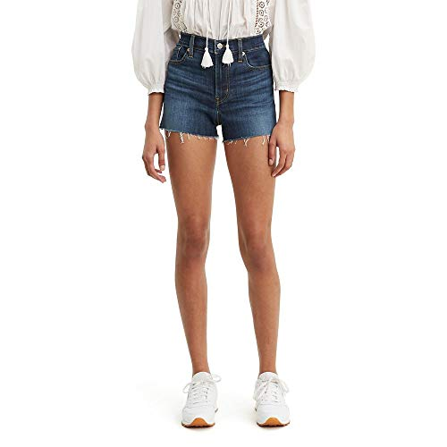 Levi's Women's High Rise Shorts, carbon canopy, 30 (US 10)