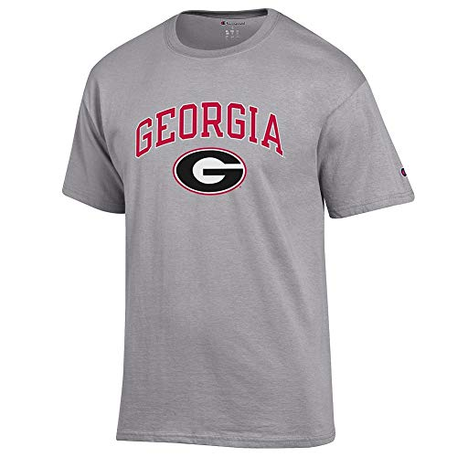 Elite Fan Shop Georgia Bulldogs Tshirt Varsity Gray - XL