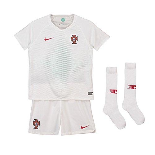 Nike 2018-2019 Portugal Away Mini Kit ()
