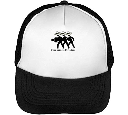 Gorras Abducted Aliens By Hombre Snapback Beisbol I Negro Blanco Was IROAqwxAUa
