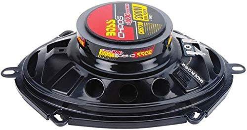 BOSS CH5730 5x7 600W 3-Way Car Coaxial Audio Stereo Speakers Red 2 PAIRS