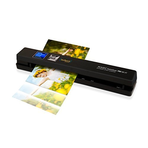 VuPoint InstaScan Wi-Fi Portable Scanner PDSWF-ST48-VP