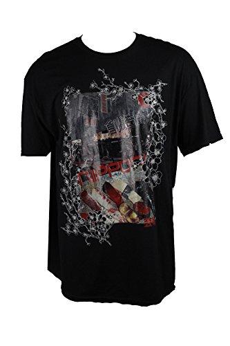 American Rag Black Short-Sleeve Graphic-Print T-Shirt S