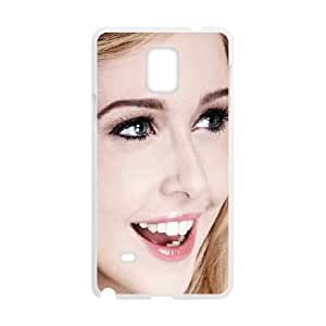 Celebrities Diana Vickers Samsung Galaxy Note 4 Cell Phone Case White phone component AU_600411
